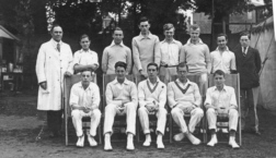 B G S Cricket first eleven, probably in nineteen-twenty-seven.