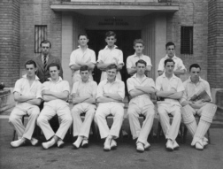 B G S Cricket first eleven of nineteen-forty-seven