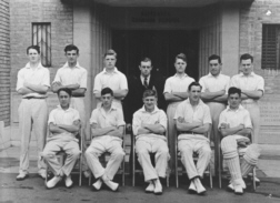 B G S Cricket first eleven of nineteen-forty-eight