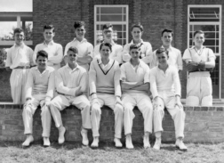 B G S Cricket first eleven of nineteen-fifty