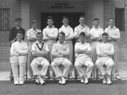 B G S Cricket first eleven of nineteen-fifty-two
