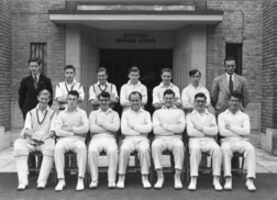 B G S Cricket first eleven of nineteen-fifty-three