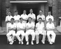 B G S Cricket first eleven of nineteen-fifty-eight