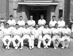 B G S Cricket first eleven of nineteen-sixty