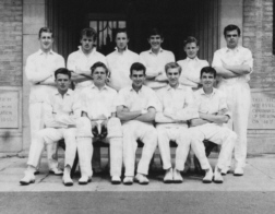 B G S Cricket first eleven of nineteen-sixty-one