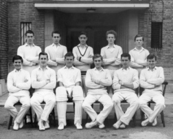 B G S Cricket first eleven of nineteen-sixty-two