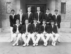 B G S Cricket first eleven of nineteen-sixty-four