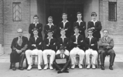 B G S Cricket eleven of nineteen-sixty-five