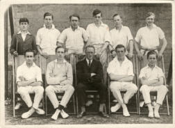 B G S Cricket second eleven of nineteen-twenty-four or twenty-five