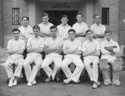 B G S Cricket probably the second eleven of nineteen-forty-seven.