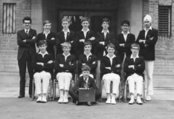 B G S Cricket team, year unknown.