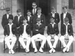 B G S Cricket under-thirteens eleven of nineteen-sixty-five