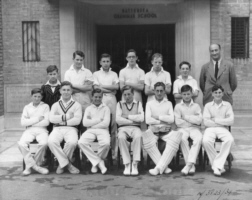 B G S Cricket under-fourteens eleven of nineteen-fifty-one