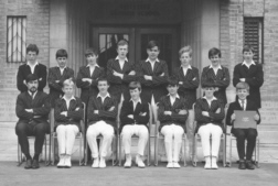 B G S Cricket under-fourteens eleven of nineteen-sixty-seven