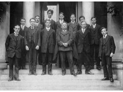 Headmaster and Prefects c1910