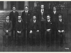 Headmaster and Prefects 1927