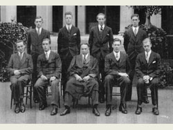 Headmaster and Prefects 1929