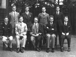 Headmaster and Prefects 1932