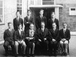 Headmaster and Prefects 1937