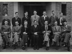 Headmaster and Prefects 1948-49