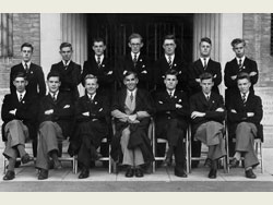 Headmaster and Prefects 1949-50