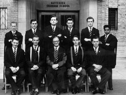 Deputy Headmaster and Prefects 1958-59