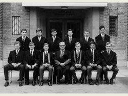 Headmaster and Prefects 1965-66