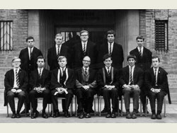 Headmaster and Prefects 1966-67